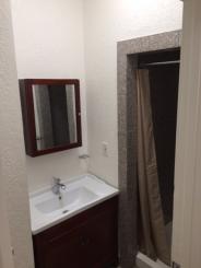 bathroom from hallway