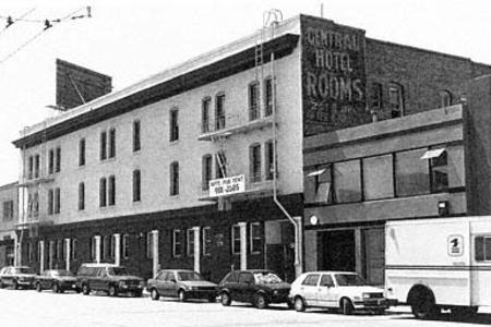 OLD School photo of bldg